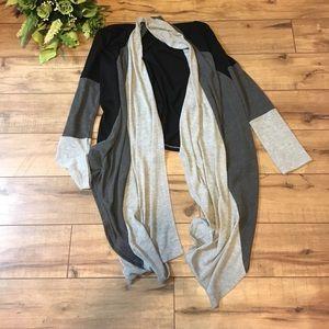 Women's cardigan grey black